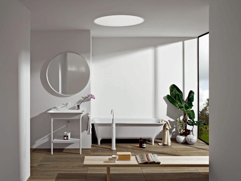 Espejos y lavamanos para el ba o for Espejos para cuartos de bano