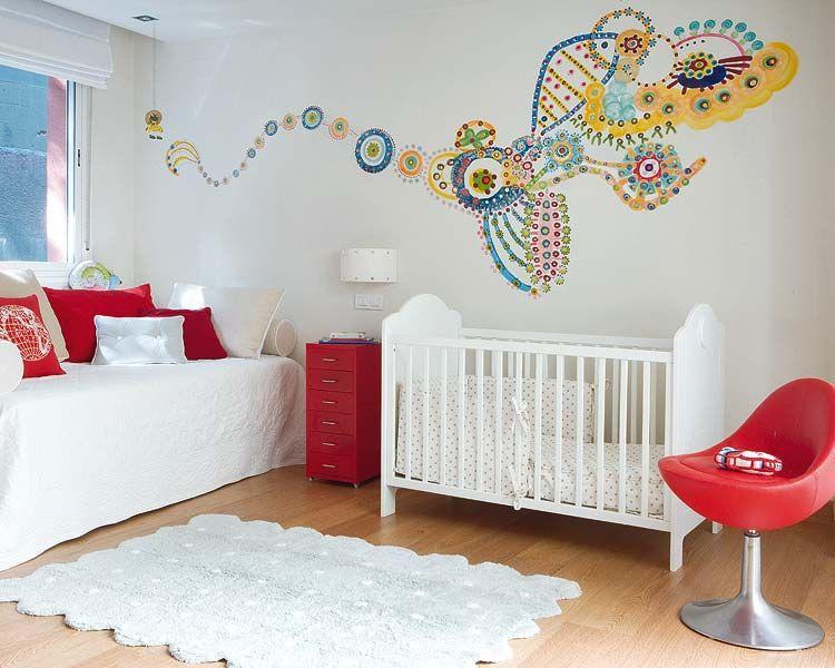Como decorar el dormitorio de un recién nacido