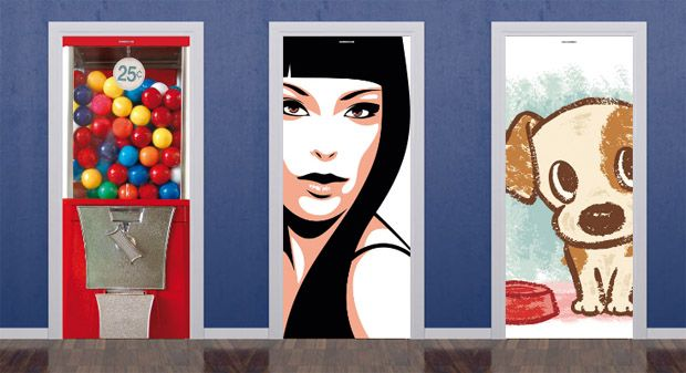 Como Mejorar La Entrada Y Vestibulo De Mi Hogar - Decoracion-para-puertas