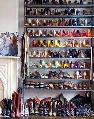 Ideas para organizar los zapatos en el dormitorio - Ideas para decorar zapatos de nina ...