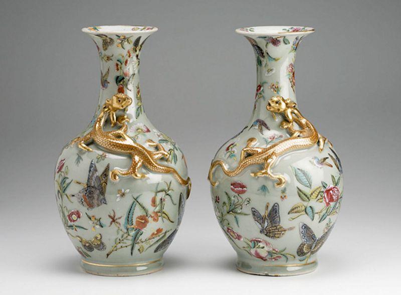 Decorar con jarrones chinos for Decoracion en ceramica artesanal