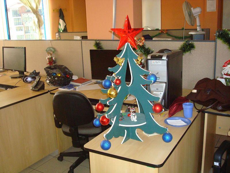 C mo decorar mi oficina para navidad - Arreglar silla oficina se queda baja ...