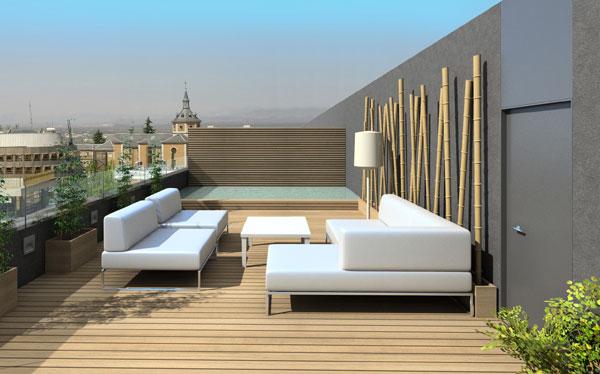 Decorar terraza seg n el feng shui Fotos de aticos decorados
