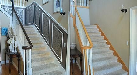 Renovando las escaleras viejas for Escaleras de sala