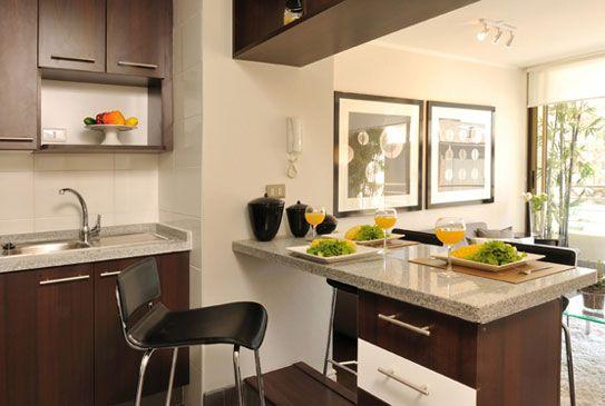 Consejos para decorar una cocina americana for Consejos de cocina
