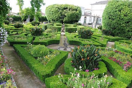 Decoración de jardines formales