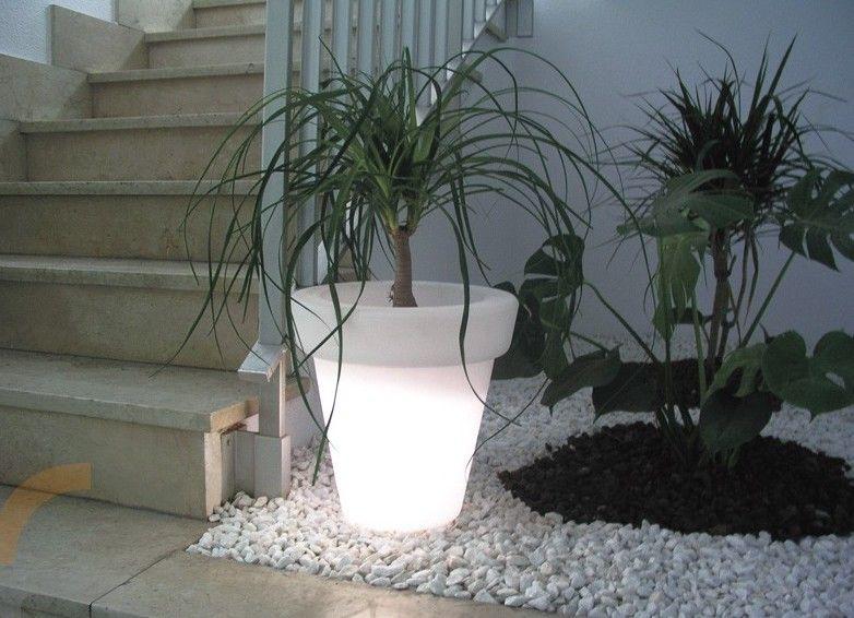 Macetas modernas para la sala for Plantas modernas para jardin