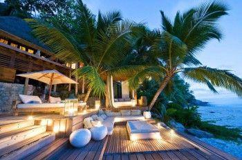 Exteriores de casas de playa