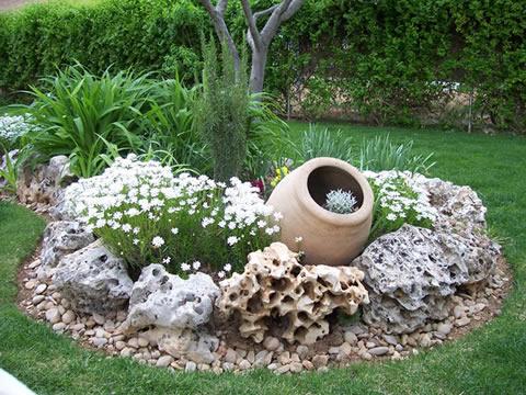 Vasijas para decorar jardín