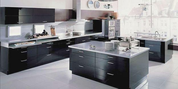 Cocinas modernas minimalistas for Cocinas modernas negras