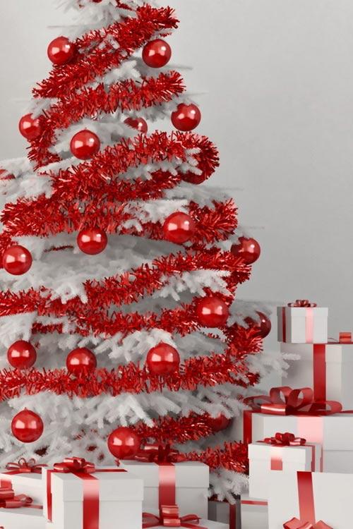 Como decorar un rbol de navidad blanco - Arreglar silla oficina se queda baja ...