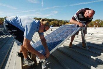 Como instalar un panel solar