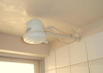 Como instalar una ducha el ctrica for Duchas electricas modernas