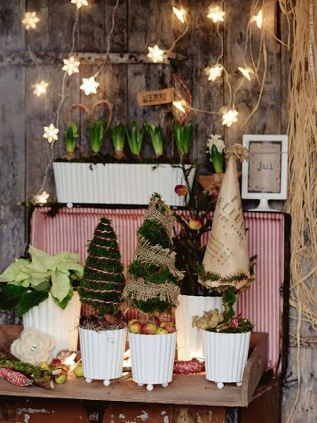C mo decorar una casa de campo en navidad for Decorar su casa de campo