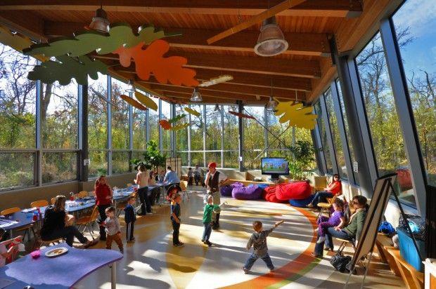 The Qualico Family Center interior