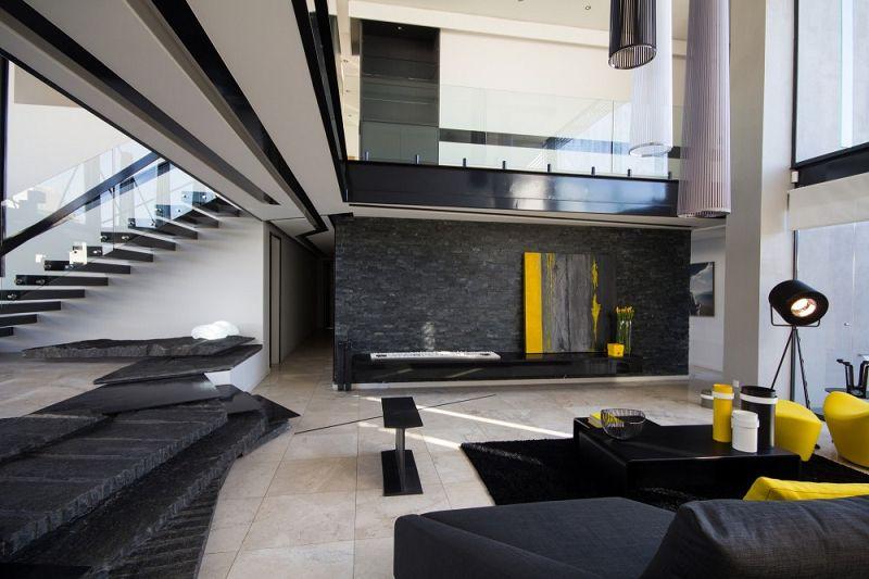 Casas modernas casa ber Planos interiores de casas modernas