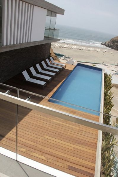 Casa de playa alberca