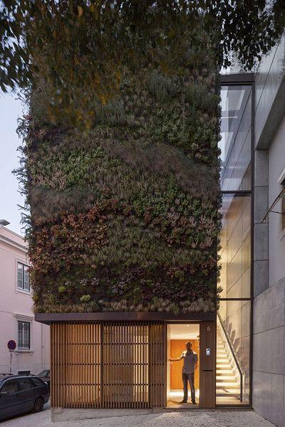 Casas Verdes fachada