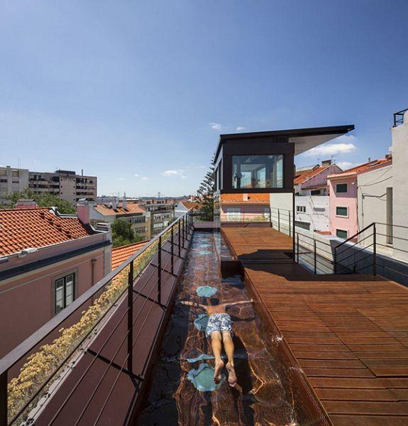 Casas Verdes terraza