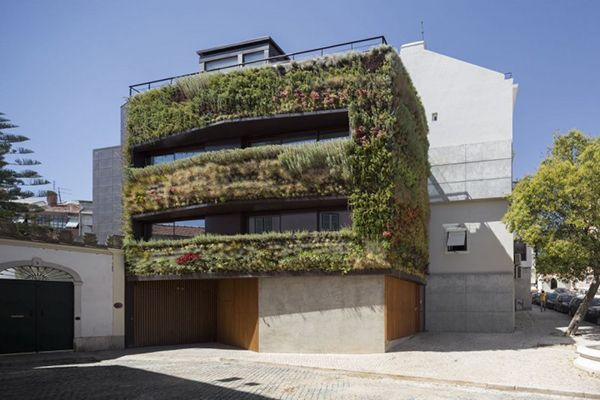 Casas verdes cubierta verde en el mediterr neo - Maison design moderne capital building ...