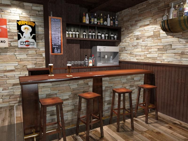 Como decorar una bodega rustica - Ideas decoracion bar ...