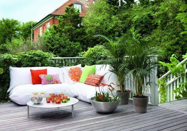Como decorar una terraza con plantas Como organizar mi jardin