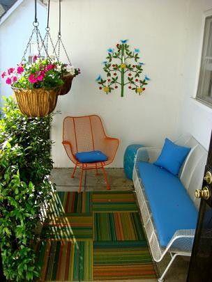 Como decorar una terraza peque a - Como cubrir una terraza ...