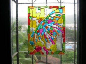 Como pintar cristal