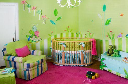 Como pintar habitación bebe