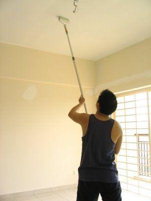 Como pintar la casa - Como pintar el techo ...