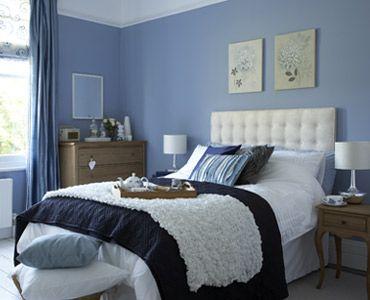 Como pintar un dormitorio - Pintar pared dormitorio ...