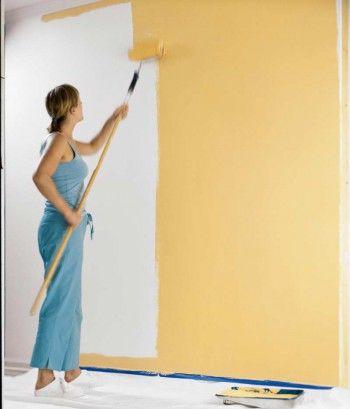 Como pintar una pared
