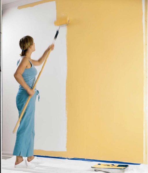 Como pintar una pared - Como pintar paredes con humedad ...