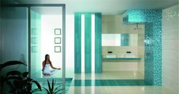 Decorar paredes de baños modernos