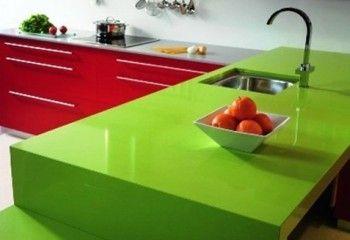 Encimeras de cocinas modernas