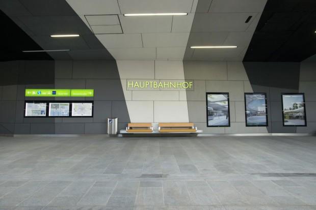 Estación de trasporte público interior