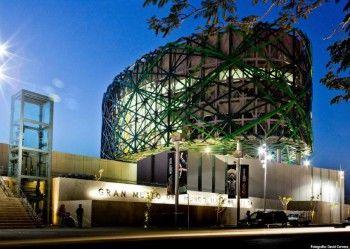 GRAN MUSEO DEL MUNDO MAYA arquitectura