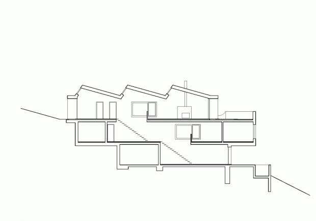 House Uesslingen plano