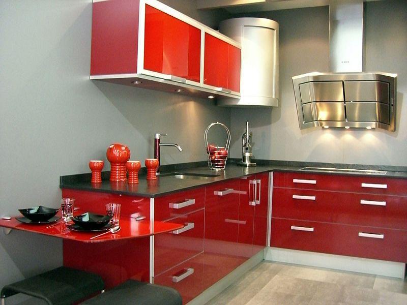 Muebles y accesorios para decorar una cocina moderna