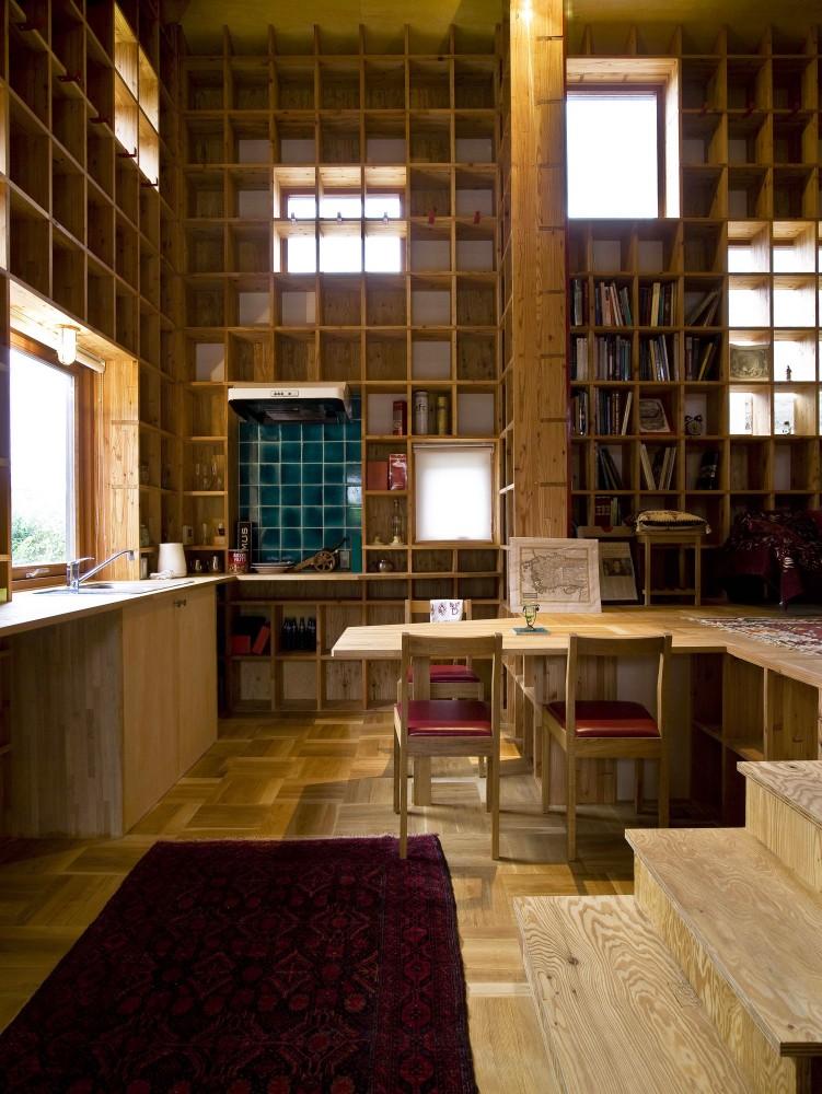 Salón de Estudio: diseño de un amplio y funcionalista