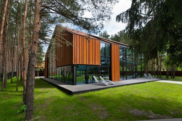 Viviendas modernas fachada