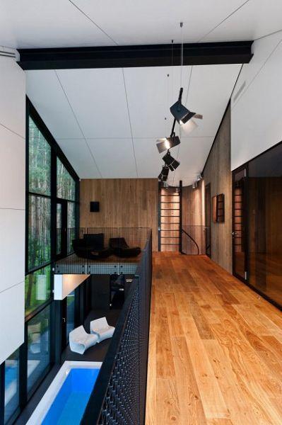 Viviendas modernas interior 1