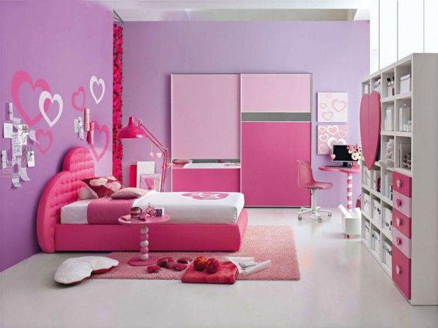 habitaciones paredes rosa