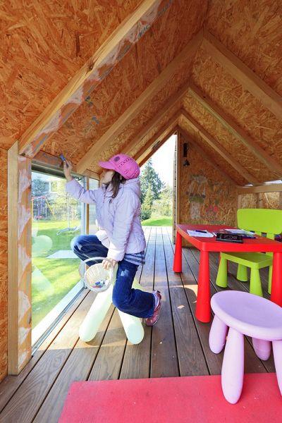 Arquitectos dise an una casa del rbol ca do - Casitas en el arbol ...