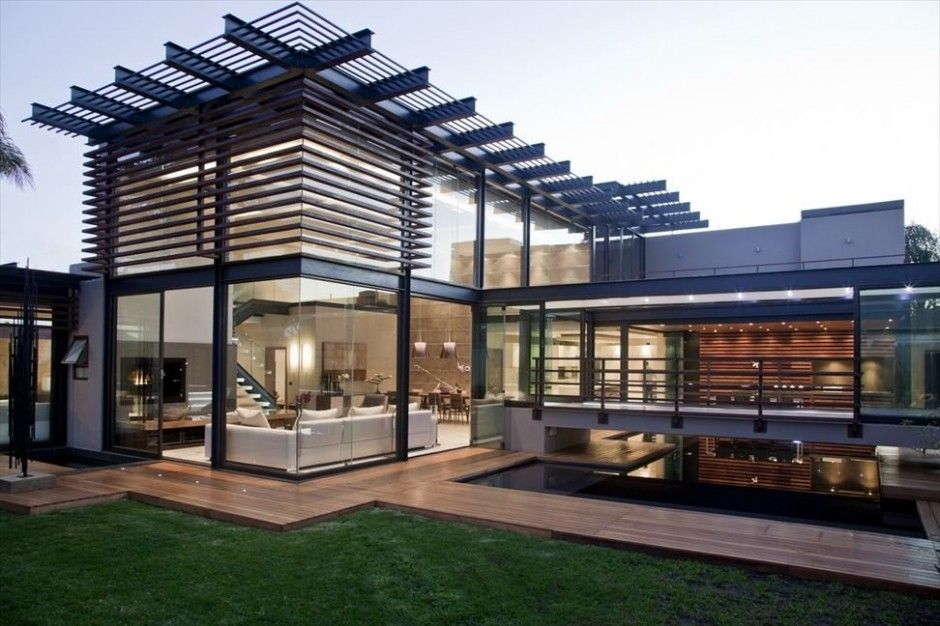 Abo house casa moderna en sud frica for Casa moderna vigo