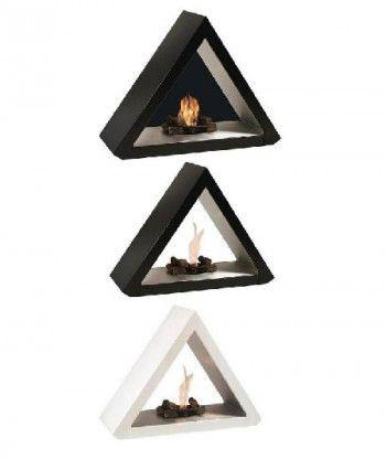 Chimeneas modernas con forma geometrica 1