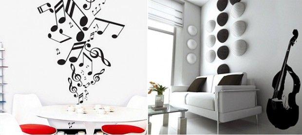 Decoracion moderna con inspiracion musical