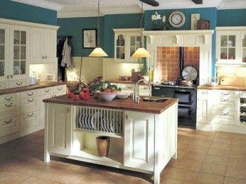 Decorando la cocina con estilo antiguo