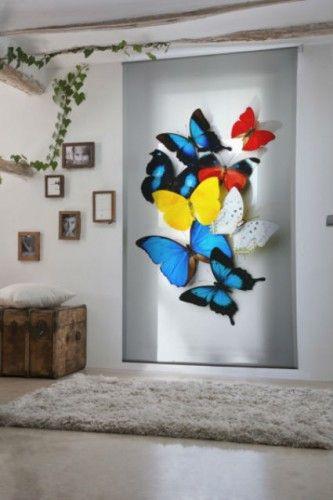 Decorar paredes modernas con estampado animal