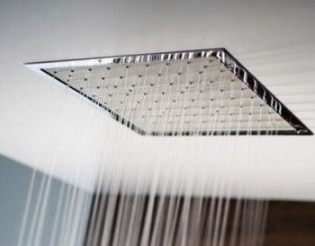 Duchas modernas empotradas al techo 1